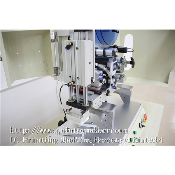 High Precision Semi Auto Flat Labeling Machine