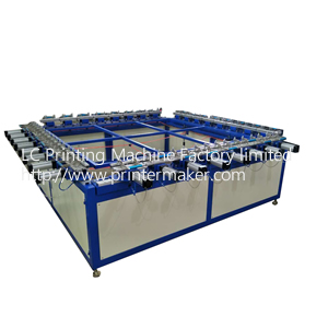 High Quality Pneumatic Screen Mesh Stretching Machine(Double Handle)