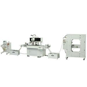 High Speed Automatic Roll to Roll SilkScreen Printer