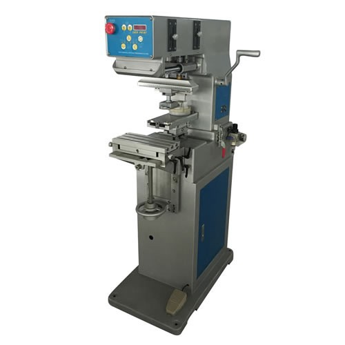 Ink Cup 1 Color Pad Printing Machine with Lifted Head