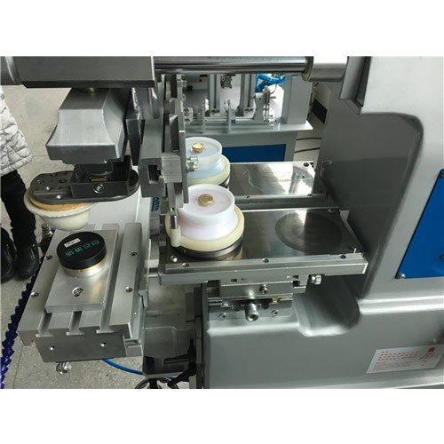 Ink Cup Two Color Pad Printing Machine