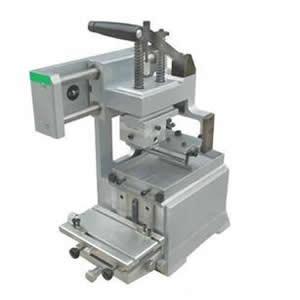 Ink Tray Manual Pad Printing Machine
