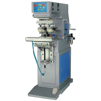 Large Printing Size Two Color Pad Printing Machine with Shuttle