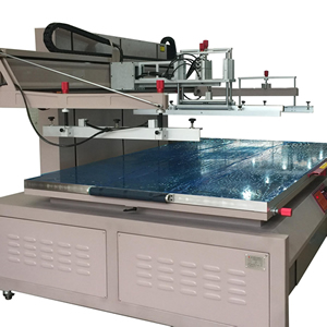 Large Size Flat Bed Screen Printing Machine