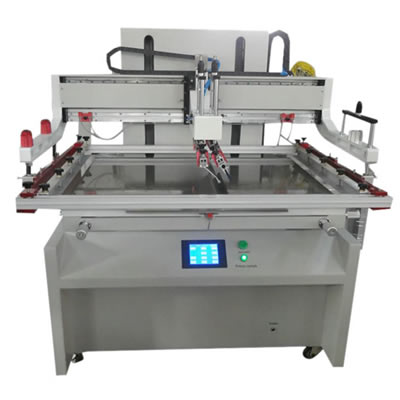 Large Size Fully Electrical Screen Printing Machine