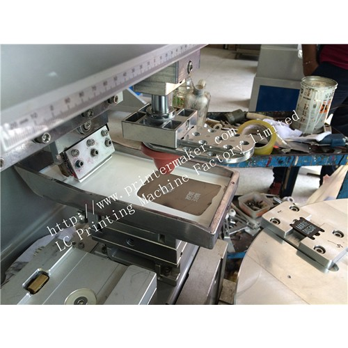 Memory card High Precision Pad Printing Machine with Turntable