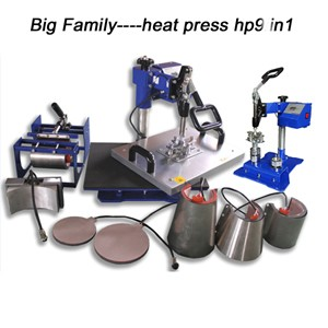 Multi Funtional Heat Press Machine