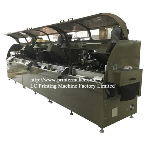 New Upgraded 3 Color Automatic Silk Screen Printing Machine