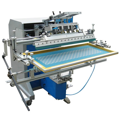 Pneumatic Cylindrical Screen Printer For Long Tube