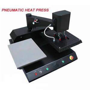 Pneumatic Double Location Heat Press Machine