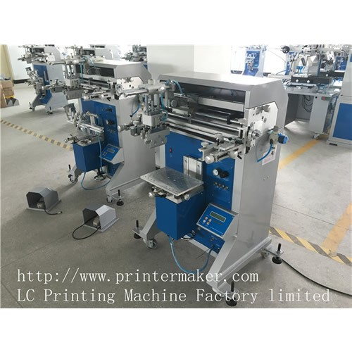 Pneumatic Flat and Cylindrical Screen Printing Machine
