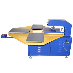 Pneumatic Heat Press Machine with Carousel