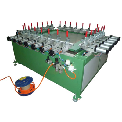 Pneumatic Screen Mesh Stretching Machine