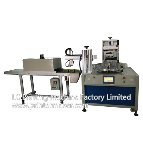 Rotary Semi-Auto SilkScreen Printer