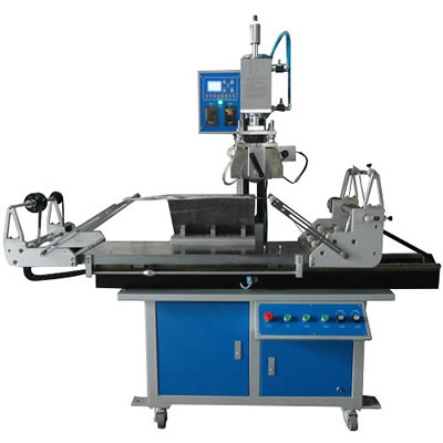 Rubber Roller Hot Stamping Machine for Plate and Round