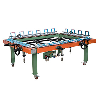 Screen Stretching Machine