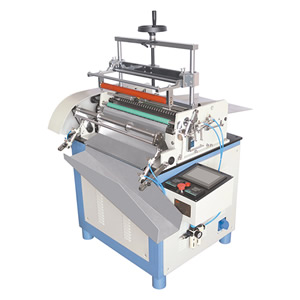 Semi-Auto Hot melt Paper tube labeling machine