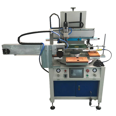 Semi Auto Screen Printing Machine with Auto Manipulator