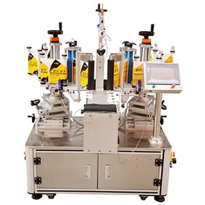 Semi Automatic Double Side Labeling Machine