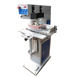 Side Way Ink Cup Pad Printing Machine Model