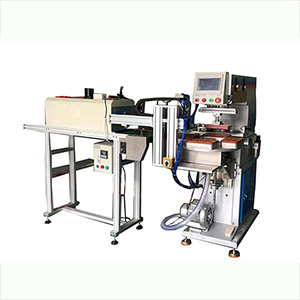 Single Color Automatic Pad Printing Machine on Plastic Cover