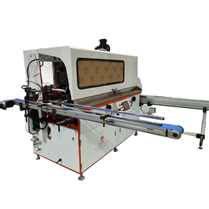 Single Color Automatic UV Screen Printing Machine-Mechanically Driven