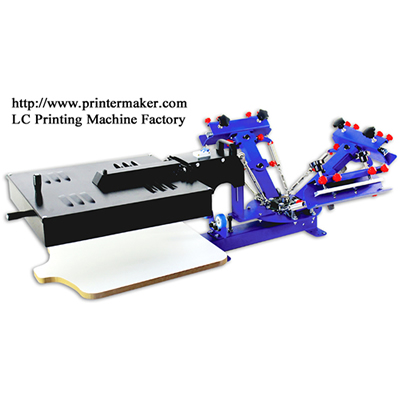 Table Type 3 Color 1 Station Screen Press with Dryer