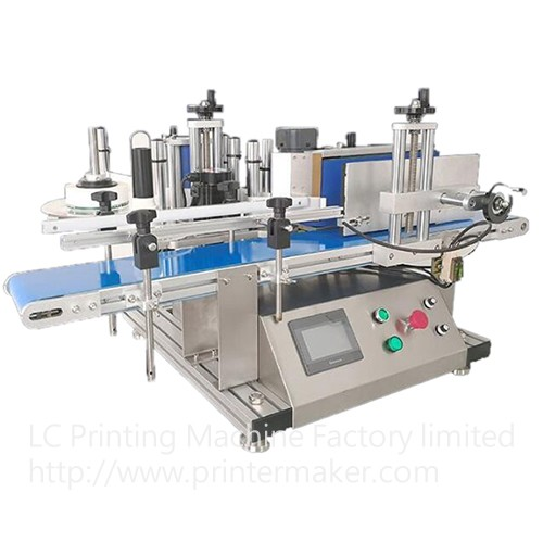 Tabletop Automatic Labeling Machine For Bottles