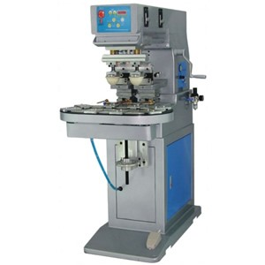 Two Color Pad Printer with Conveyer