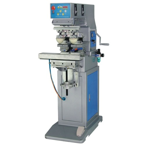 Two Color Pad Printing Machine with Shuttle