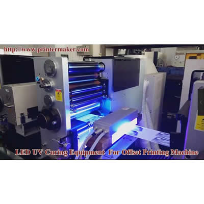 UV ink LED UV Curing System