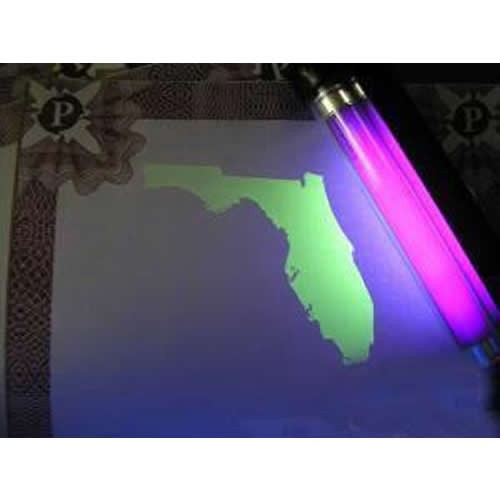 Ultraviolet Fluorescent Ink