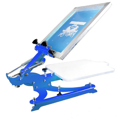 single color screen press silk screen printing machine